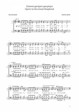 Hymn to the Good Shepherd