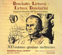 Kristijonas Donelaitis 300th Birth Anniversary