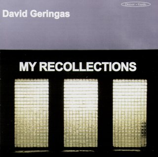 David Geringas. My Recollections