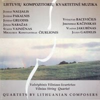 Quartets by Lithuanian Composers
