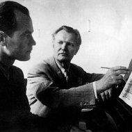 Julius Juzeliūnas Juozo Gruodžio kūrybos pamokoje, 1947-ųjų birželis
