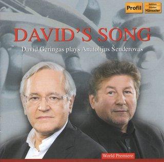 David's Song. David Geringas plays Anatolijus Šenderovas