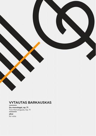 Du monologai, op. 71