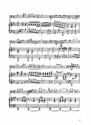 Two pieces for cello and piano