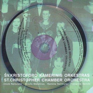 Šv. Kristoforo kamerinis orkestras. Lietuvių kompozitorių kūriniai