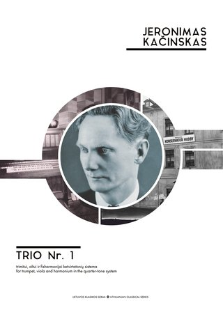 Trio No. 1 in the quarter-tone system