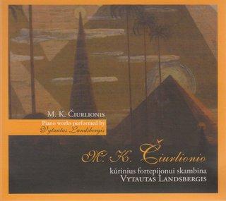 M. K. Čiurlionio kūrinius fortepijonui skambina Vytautas Landsbergis