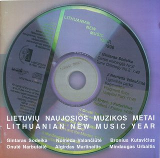Lithuanian New Music Year 1998