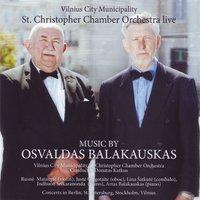 Music by Osvaldas Balakauskas