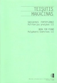 Book for Piano. Polyphonic Exercises III