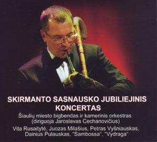 Skirmanto Sasnausko jubiliejinis koncertas