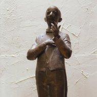Danieliaus Dolskio skulptūra. Skulptorius Romas Kvintas