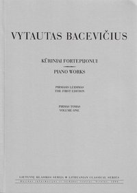 Kūriniai fortepijonui (I tomas)