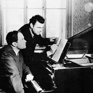 Julius Juzeliūnas ir Eduardas Balsys, 1954 m. gruodžio 27 d.