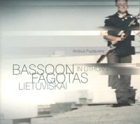 Andrius Puplauskis. Bassoon in Lithuanian