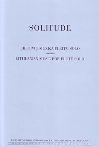 Solitude. Music for Flute Solo