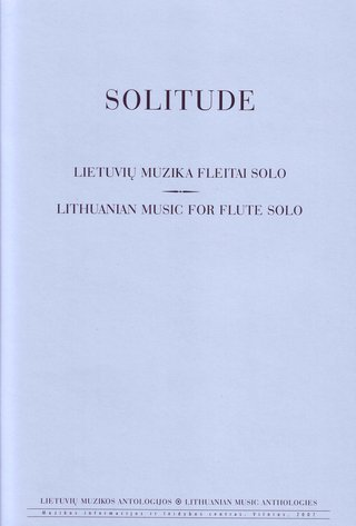 Solitude. Music for Flute Solo