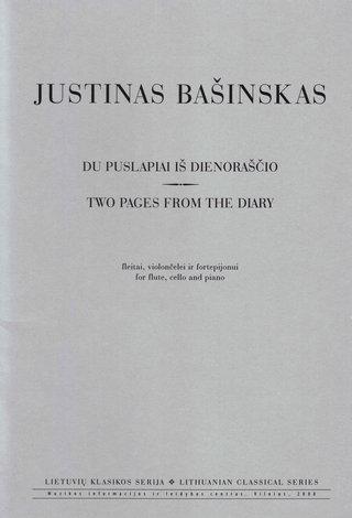 Du puslapiai iš dienoraščio