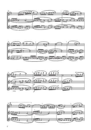 Improvisation and Scherzo