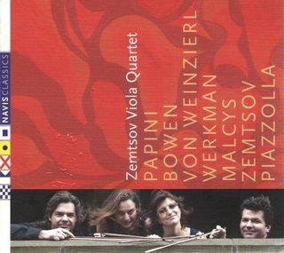 Zemtsov Viola Quartet