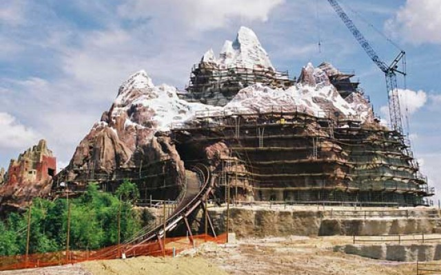 disney's mount everest