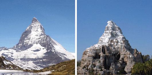 Fake for Real: Ceci n'est pas une Montagne