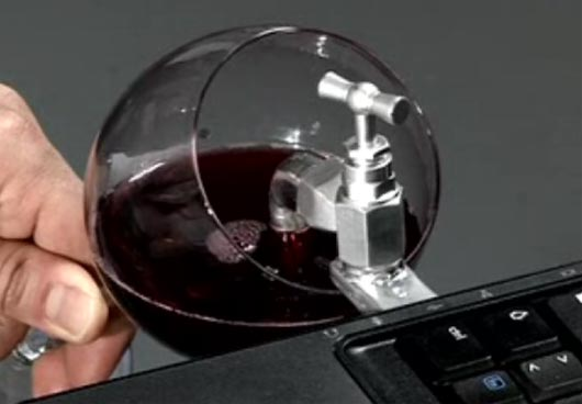 USB wine parody