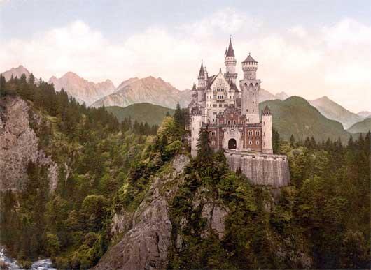 Neuschwanstein old photo