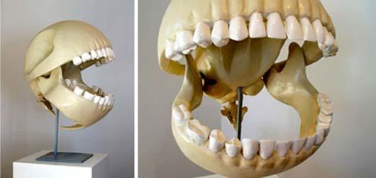 pacman skull