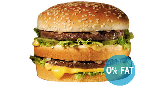 bigmac light. 0% fat