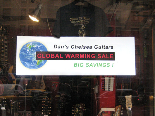 Global warming sales