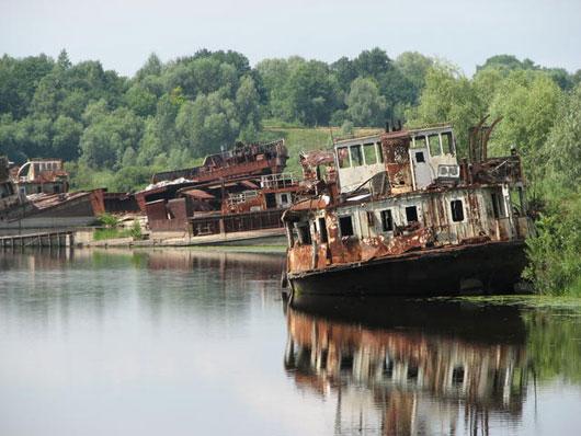 chernobyl dying ship