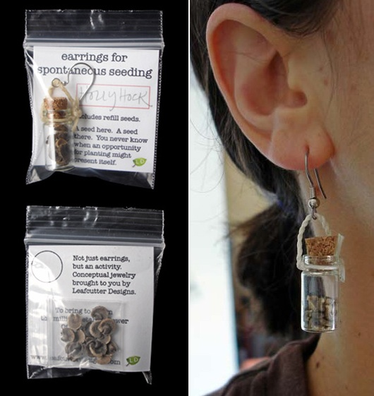 earrings for spontaneous seeding
