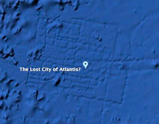 a look at the mysterious city atlantis Satellite images show ancient mysterious city in middle of ocean  it was also  compared to the island of atlantis, which was speculated to have.
