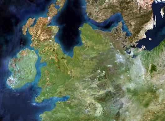 doggerland satelite image