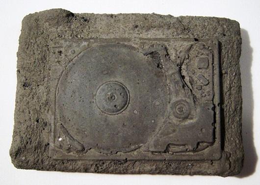 fossil harddisk