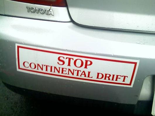 stop continental drift