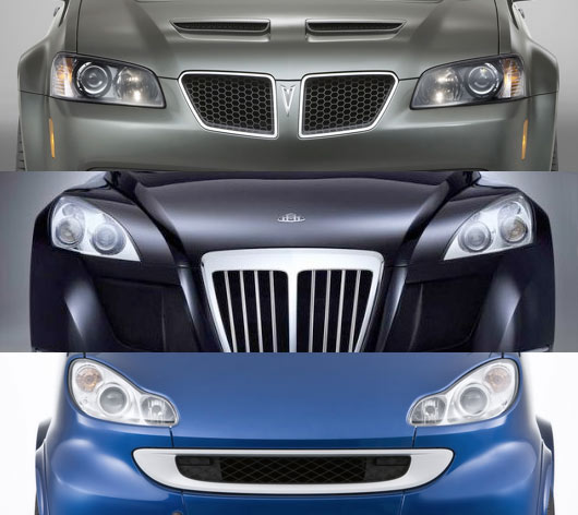 Cars with Faces