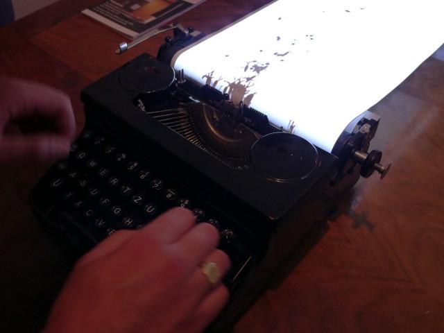 typewriter animals