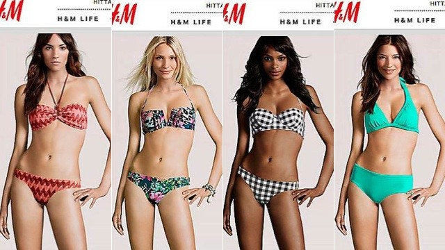 h and m computer models