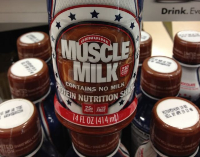 muscle milk contains no milk