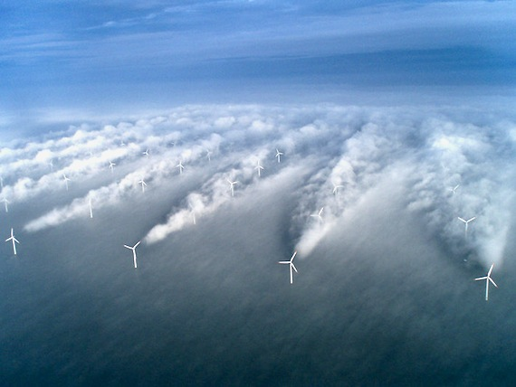 wind turbines generate micro climates