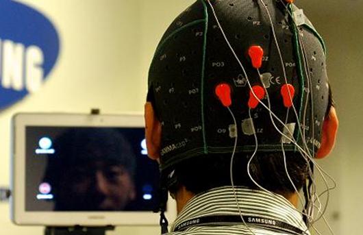 Samsung mind-control tablet