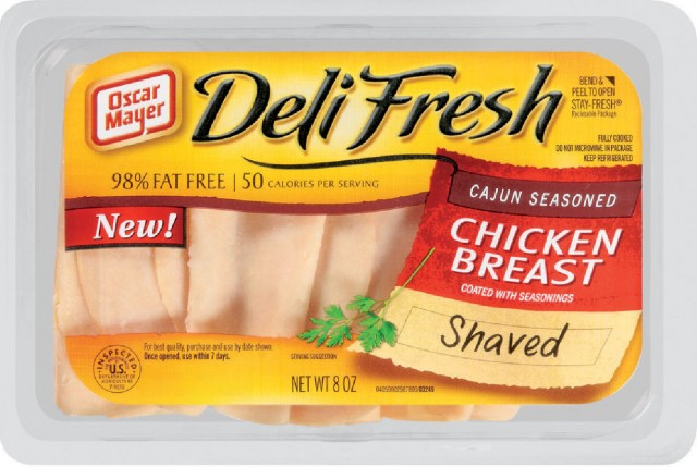 It's not from a deli, and it's not fresh