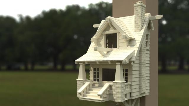 3D birdhouse