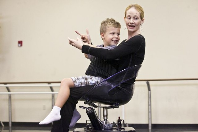 Merry Lynn Morris and the Rolling Dance Chair. From the Tampa Bay Times, 2013.