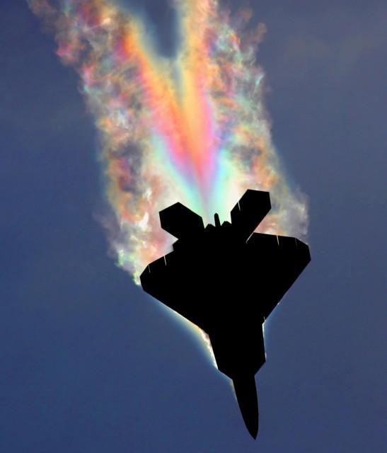 F-22 Raptor Rainbow