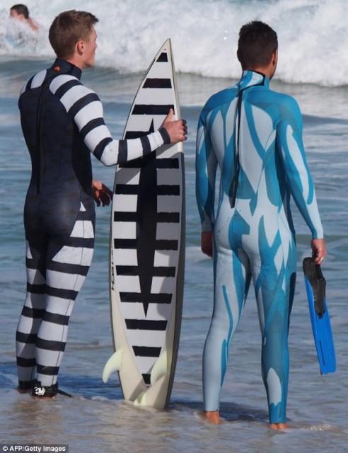 sharkdeterennt wetsuit