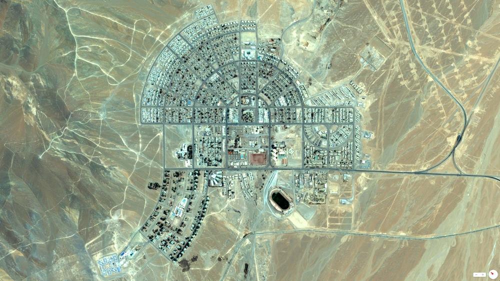 Панорама со спутника в реальном времени