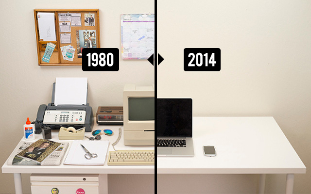 The Evolution Of The Desk 1980 2014